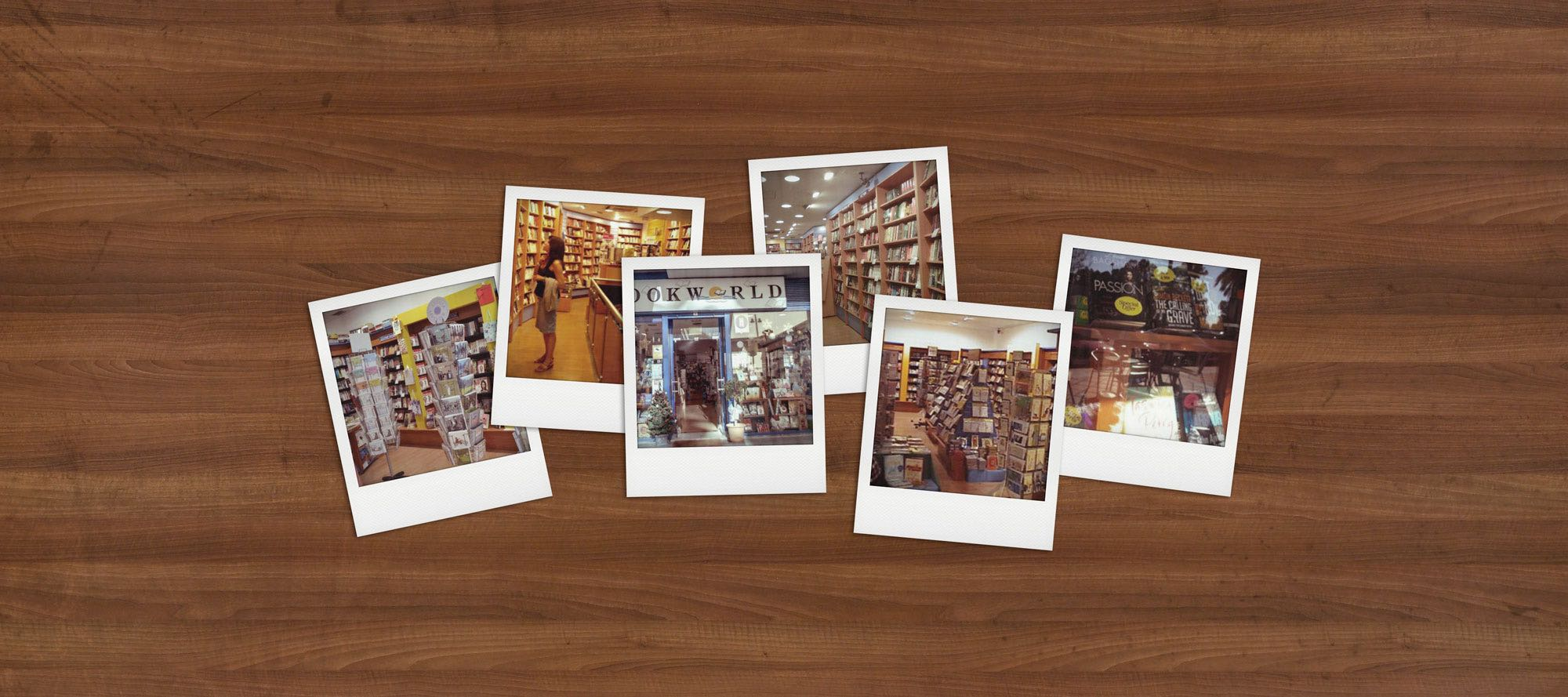 Bookworld Polaroids